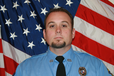 Fire Rescue Officer Jonathan Jenkins